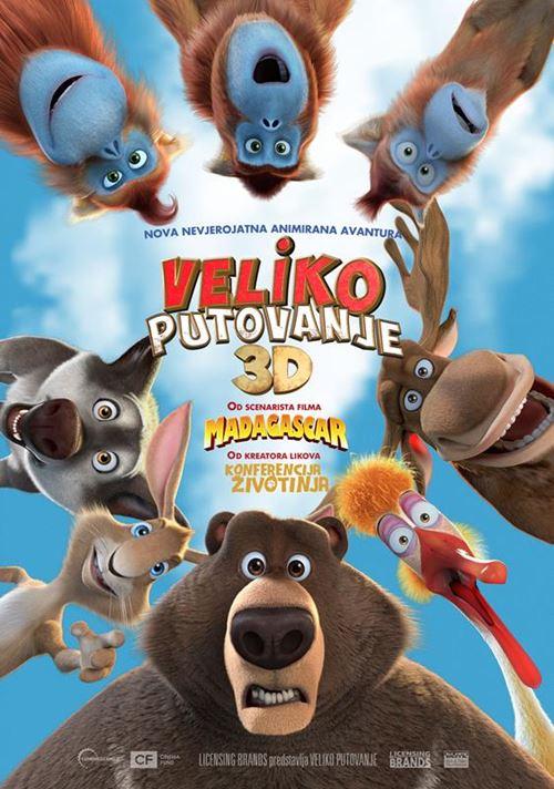 Plakat filma Veliko putovanje