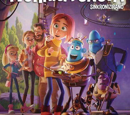 Plakat crtanog filma Tvornica snova